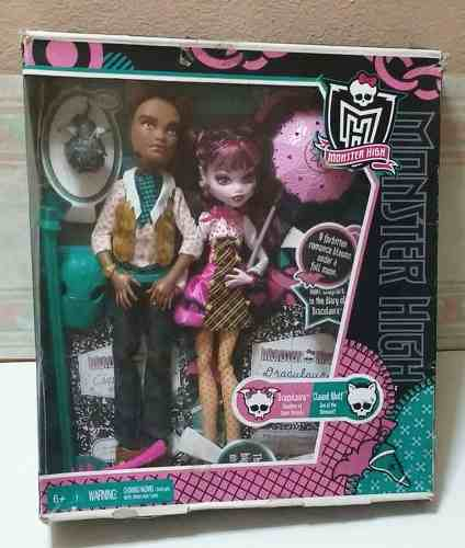 Draculaura Y Clawd School Out - Monster High