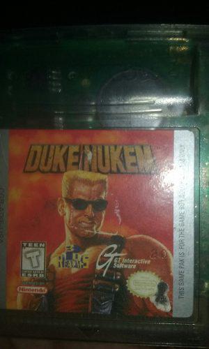 Duke Nuke Para Gameboy Color Original.