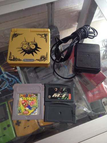 Game Boy Advance Sp Edicion Zelda Majorask Gba 1 Luz