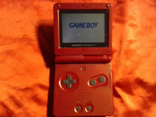 Game Boy Advance Sp, Gba