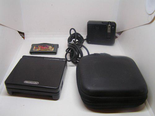 Gameboy Advance Ags.001 Sp Negro King Of Fighters Estuch Bsg