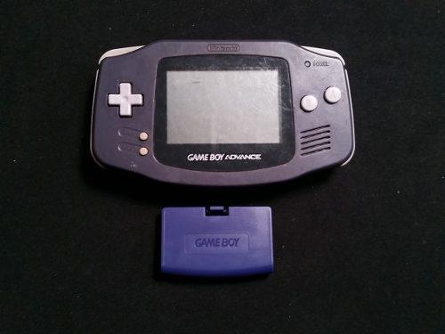 Gameboy Advance Morado Con Tapa A