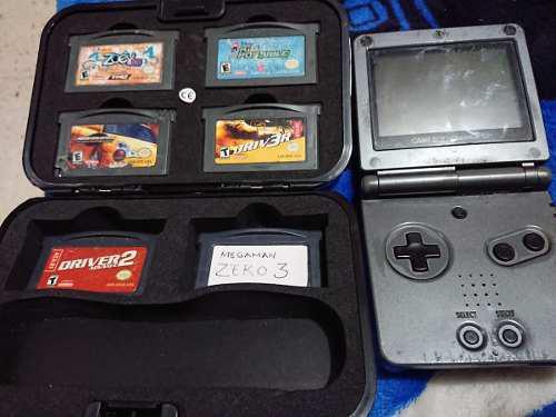 Gameboy Advance Sp 1001 Doble Luz Detalles Esteticos