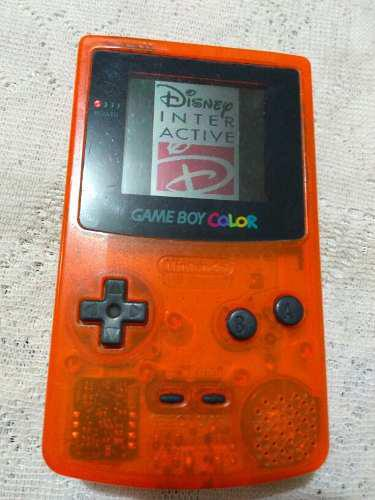 Gameboy Color Naranja Original