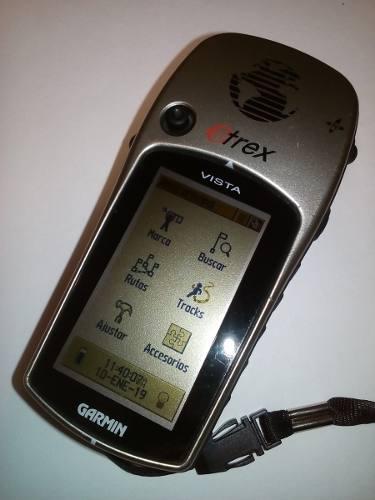 Gps Garmin Etrex Vista Muy Buen Estado Sin Cable D Datos