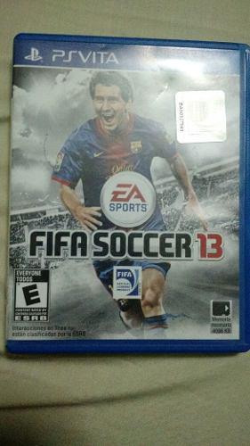 Juego Para Psvita Fifa Soccer 13