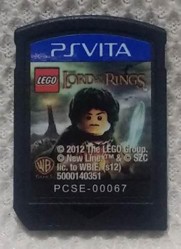 Lego Lord Of The Rings Para Psvita Usado