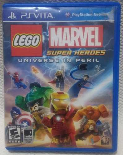 Lego Marvel Super Héroes Para Psvita Usado
