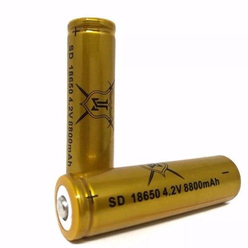Lote 12 Pz Bateria Recargable 4.2v  Mah Li-ion - Te