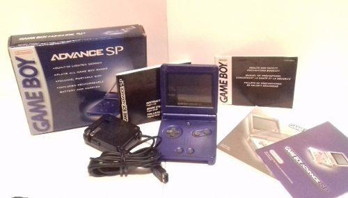 Nintendo Gba Sp En Caja Azul Juego Colección Envio Gratis