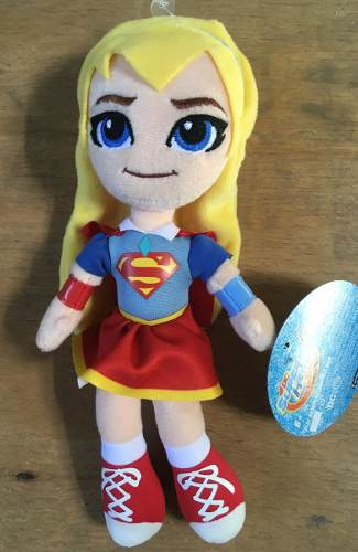 Peluche Supergirl - Dc Super Hero Girls Peluche 20 Cm