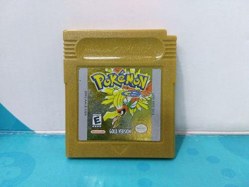 Pokemon Gold Version - Game Boy -