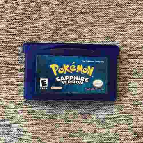 Pokemon Sapphire Original Game Boy Sp!! Usado!!