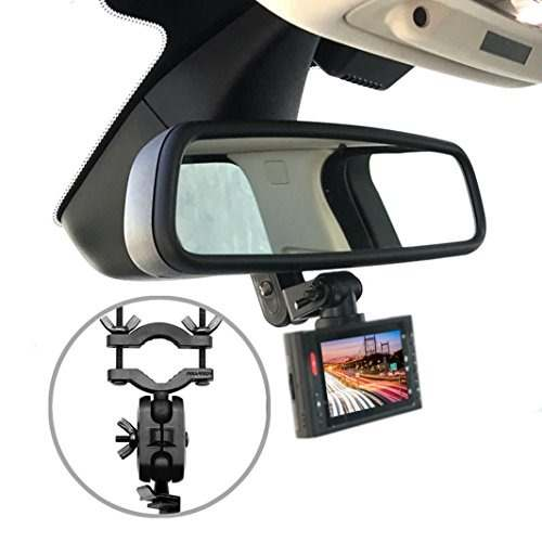 Pruveeo Dash Cam Mount For 99% Dash Cam And Gps, Car Rearvie