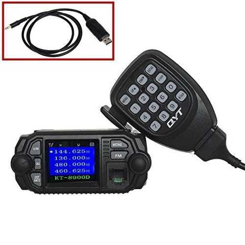 Qyt Kt-8900d 25w / 20w Uhf / Vhf-radios De Dos Vías De