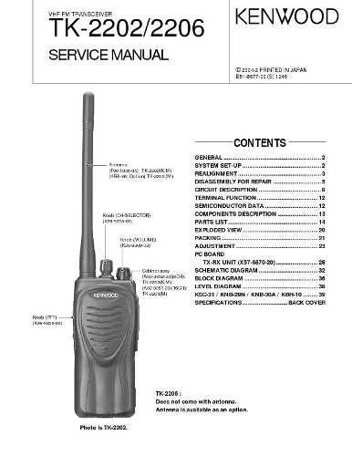 Radio Kenwood Tk 2202 / 3202 Completos Seminuevos