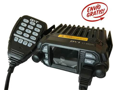Radio Movil Qyt Kt-8900d Dual Band 25w/vhf Y 20w/uhf