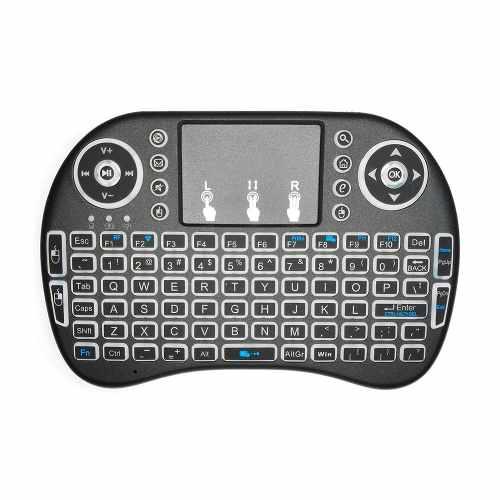 Redlemon Teclado Y Mousepad Inalámbrico Para Pc Y Smart Tv
