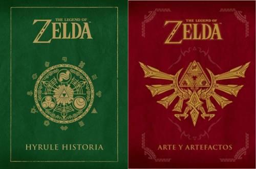 2x1 Colección Zelda - Hyrule Historia & Arte Y Artefactos