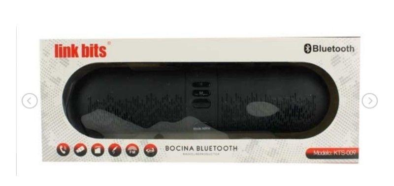 BOCINA BLUETOOTH PORTÁTIL RECARGABLE USB TF FM CORREA
