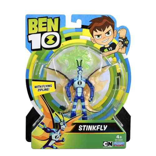 Ben 10 Figura De Acción Básica Stinkfly Insectoi