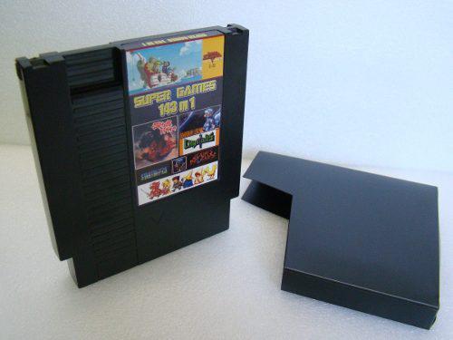 Cartucho Gen: Negro Super Games Nintendo Nes 143 Juegos En 1