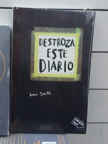 Destroza Este Diario Keri Smith Envio Gratis Dhl.