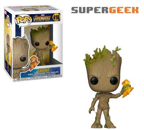 Funko Pop Marvel Avengers Infinity War Groot Glow In Dark (1