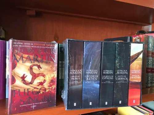 Juego De Tronos Saga Completa George R. R. Martin