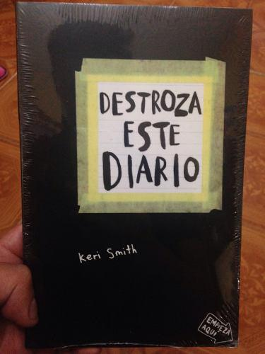 Libro Destroza Este Diario + Enviogratis