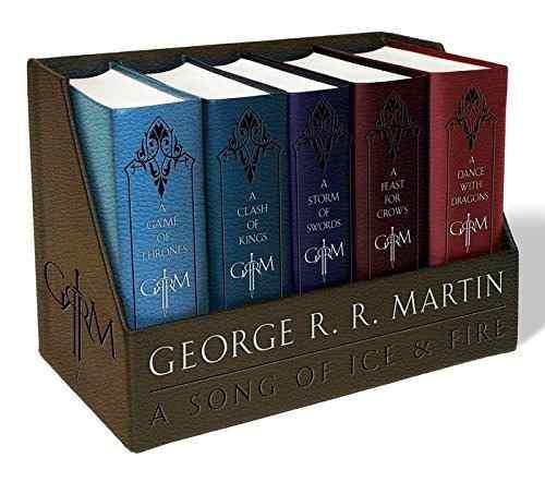 Libros Game Of Thrones, Juego De Tronos, Box 5 Edic De Lujo