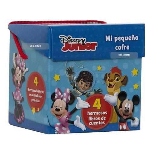 Libros Infantiles Cuentos Mi Pequeño Cofre Disney Junior