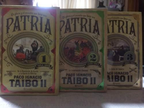 Libros Trilogía Patria La Gloria Y El Ensueño Que Forjo