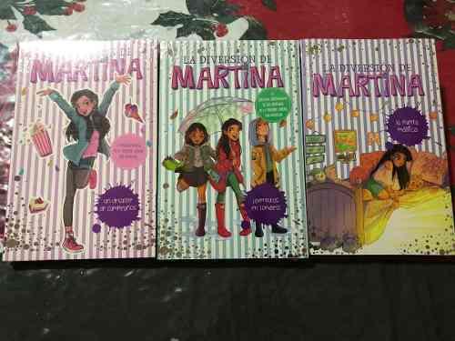 Libros Trilogia La Diversión De Martina 1- 2 Y 3 + Envío