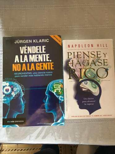 Libros Vendele A La Mente No A La G. Y Piense Y Hagase Rico