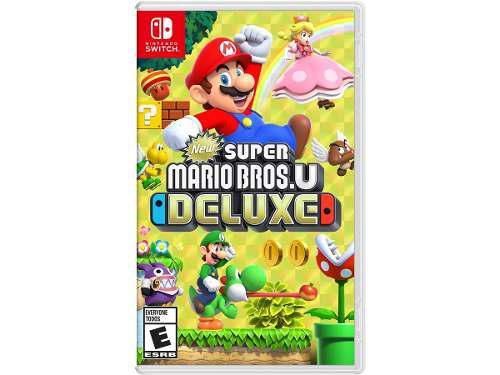 New Super Mario Bros U Deluxe Para Nintendo Switch En Wg