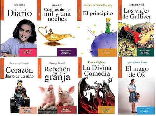 Paquete 8 Libros Ana Frank Principito Gulliver Dia Del Niño