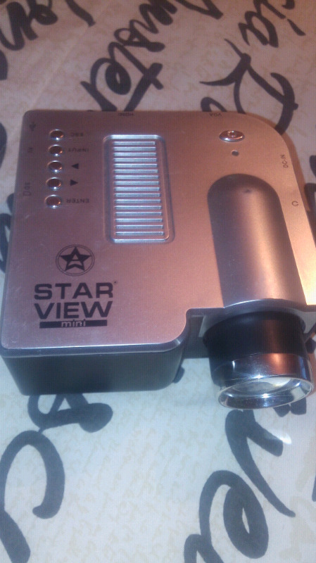 Remarto Mini proyector STAR VIEW