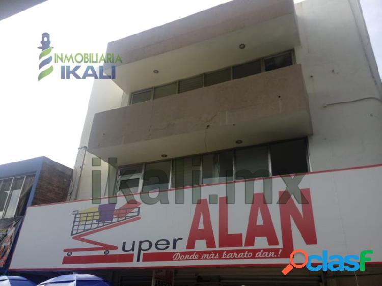 Rento oficinas 1er y 2do piso Edificio Col. Tajin Poza Rica,