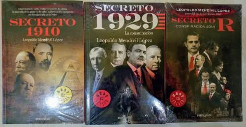 Secreto 1910, Secreto 1929 Y Secreto R Leopoldo Mendívil