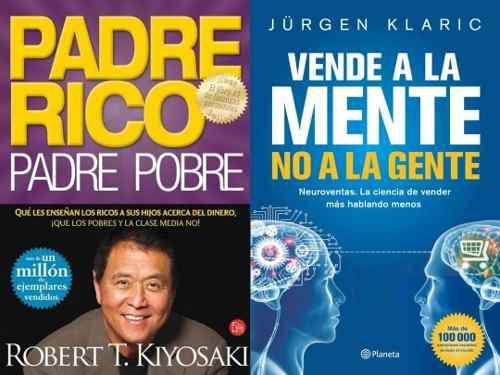 Vendele A La Mente No A La Gente + Padre Rico Padre Pobre.
