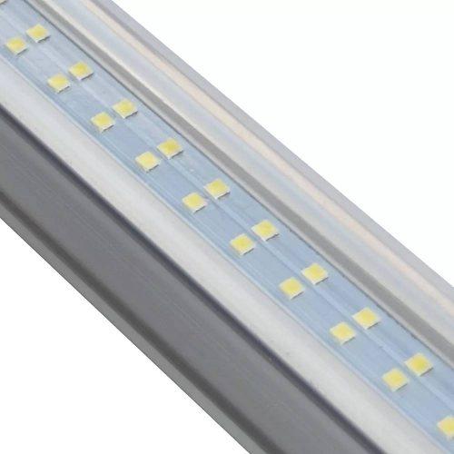 24w T8 Led Tubo Doble 1.2m Lamparas Aluminio Envio Gratis