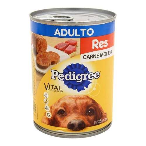 Alimento Para Perro Pedigree Carne Molida Res Adulto 375 Gr