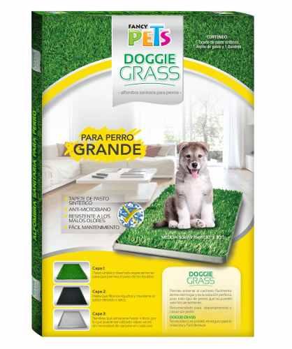Doggie Grass Grande 76 X 50 Cm Tapete Pasto Perros
