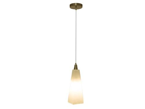 Lámpara Colgante 1 Luz E27 Acabado Niquel Satinado