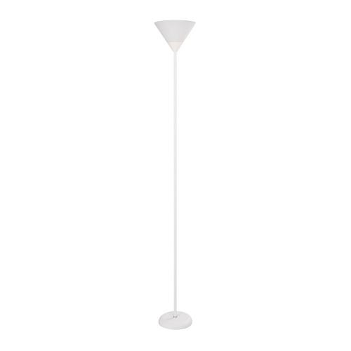 Lámpara De Piso Plástico Blanco Ew 1 Luz