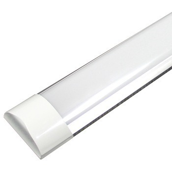 Paq 10 Tubos Led Doble Ancho Transparente 36w 120 Aluminio