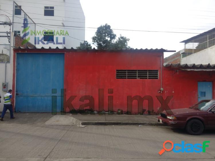Rento Bodega Col. Chapultepec Poza Rica Veracruz,