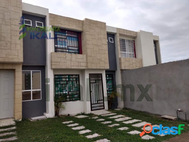 Rento casa 2 recamarás Col. Cabo Alto Tuxpan Veracruz, Cabo