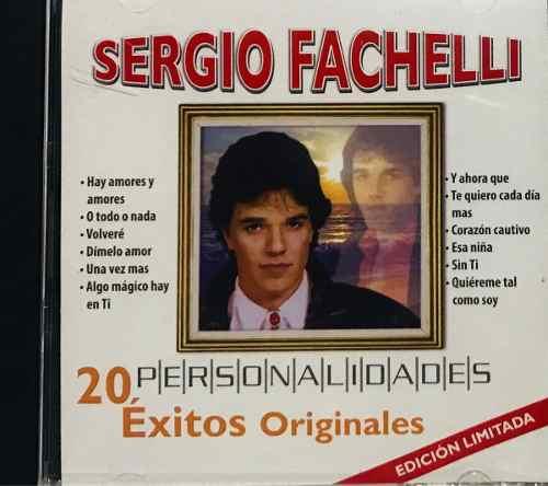 Sergio Fachelli, Personalidades 20 Éxitos Originales Nuevo